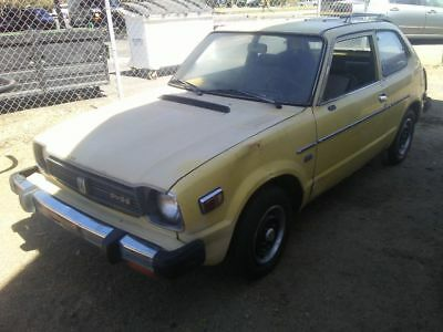 1979 Honda Civic 1200CC cars and trucks