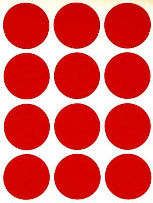 Round Dot Labels 1.5 Inch Organizing Color Coding 38mm Stickers Moving Circles