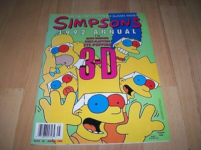 Simpsons 1992 Annual #1...Published 1992 by Bongo
