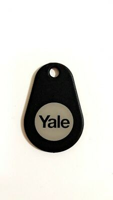 Yale Keyless Connected Key Tag Black (YD-01-CON-RFIDT-BLKS)