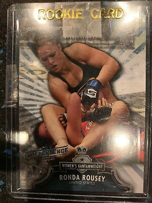 Ronda Rousey - Rc - Ufc - 2012 Bloodlines - Independence - Rarest Rc - Mint!!!!!
