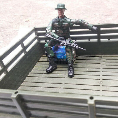 Durable Amry Action Figure Soldiers' Joints Movable Toys For RC Car WPL