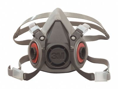 3M Half Facepiece Reusable Respirator 6100/07024(AAD), Respiratory Protection,