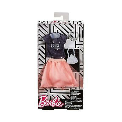 New! 2018 Barbie Doll Complete Look Fashion Pack Outfit Mattel