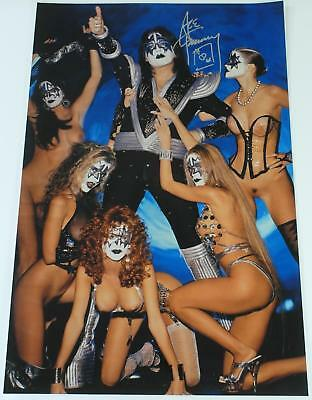 Ace Frehley KISS Signed Autograph 20x30 Photo  Poster