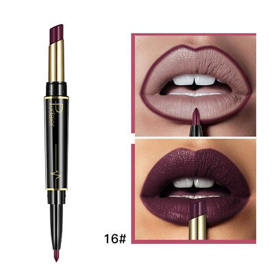 (P) - TAOtTAO Double-end Lasting Lipliner Waterproof Lip Liner Stick Pencil 16