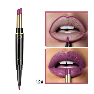 (L) - TAOtTAO Double-end Lasting Lipliner Waterproof Lip Liner Stick Pencil 16