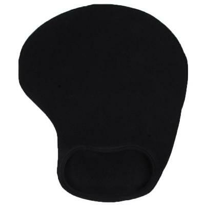 Black Anti-Slip Comfort Wrist Gel Rest Support Mouse Mat With Gel  C