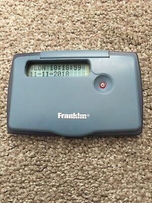 Franklin 5 Language European Translator Model TWE-118. Fitted with new battery.