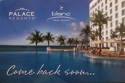Palace Resorts & Le Blanc Spa Resort Credits for your Dream Vacation!