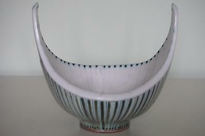 Superb Rye Pottery Bowl - Early Cole Period - Dennis Townsend - c.1950