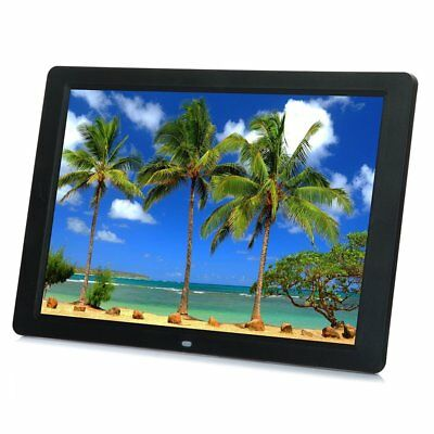 15inch LED HD High Resolution Digital Picture Photo Frame + Remote Controller YP