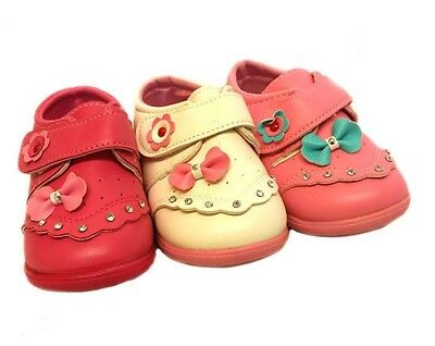 New Girls Kids Fancy Booties Slippers Casual Trainers Sandals Toddler Shoes Size