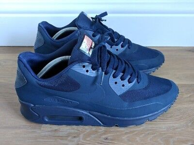 NIKE AIR MAX 90 'Independence Day' Size 9 Navy Hyperfuse