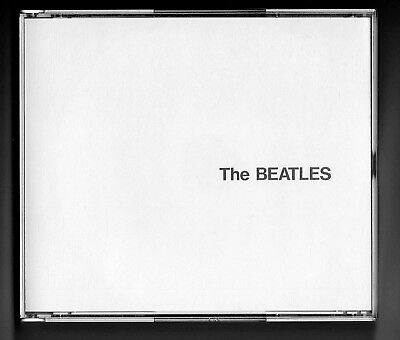 THE BEATLES - The White Album - Double Jewel Box 2CD Apple Logo - Free Shipping