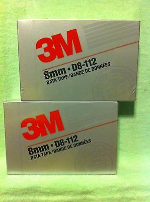 3M  .. 8mm-D8-112 Data Tape (2 Qty)