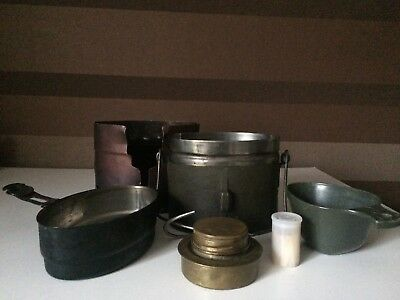 Swedish Military Army Stainless Steel Mess Kit Surplus Made in Sweden