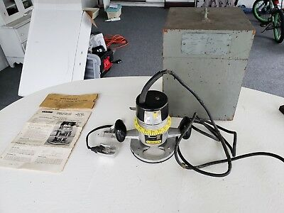 stanley router GA-H279A with extras