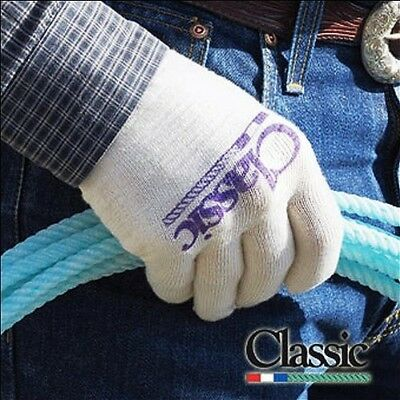 (Large) - CLASSIC EQUINE DELUXE ROPING GLOVE 3 PACK ALL SIZES SUCCESS IN YOUR