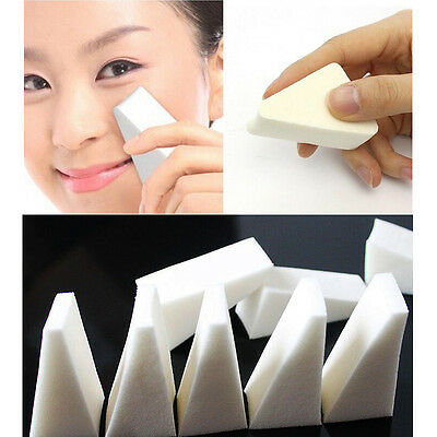 Pack Soft Puffs Makeup Facial Foundation Sponges Wedges Cosmetic 20Pcs New