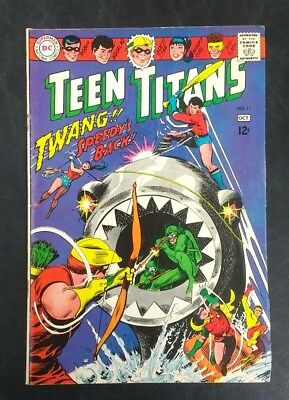 Teen Titans #11 DC Comics 1967 Silver Age 12 Cent! Nick Cardy GD/VG 3.0 20% Off!