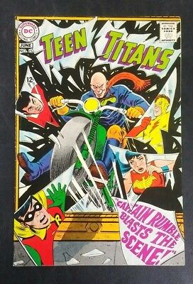Teen Titans #15 DC Comics 1968 Silver Age 12 Cent Nick Cardy VG/FN 5.0 20% Off!