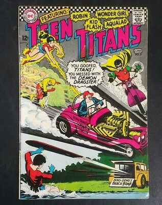 Teen Titans #3 DC Comics 1966 Silver Age 12 Cent! Nick Cardy VG- 3.5 20% Off!