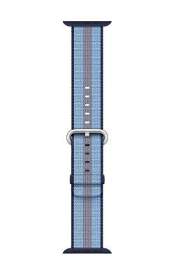 Apple MQVJ2AM/A Woven Nylon Band for 38mm Watch - Midnight Blue Stripe