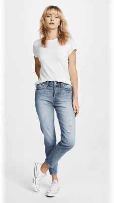Levi's Wedgie Fit Jeans 30 Button Fly High Rise White Oak Selvedge $148
