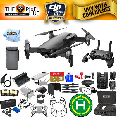 DJI Mavic Air (Onyx Black) Extreme Accessory Kit with Aluminum Case + MUCH MORE