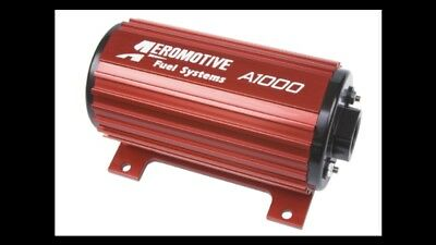 Aeromotive A1000 Fuel Pump 10-70 PSI Carb or EFI -10AN - 11101 Drag car