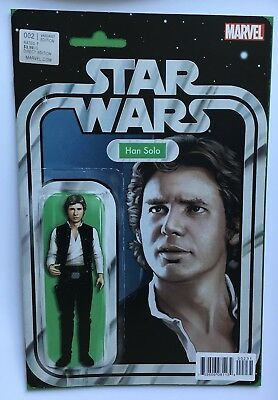 Star Wars #2 Han Solo Action Figure Variant