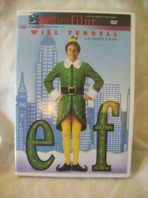 Elf Infinifilm Edition New Sealed Will Ferrell James Caan