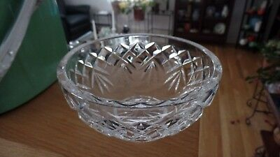 Waterford Crystal Diamond and Fan Cut Small Bowl Merano??