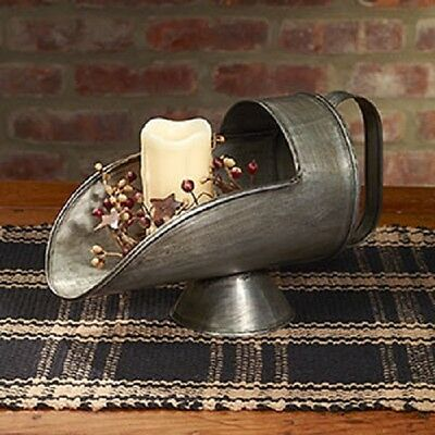 BRAND NEW!!! Primitive Country Rustic Vintage Metal Farmhouse Homestead Scoop