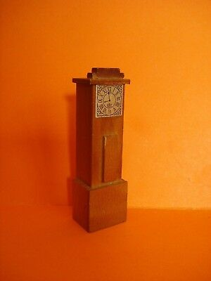 Vintage Dolls House - Early Barton Grandfather/Longcase Clock - Lundby Scale