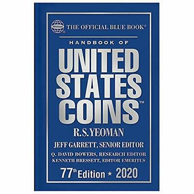 A Hand Book of United States Coins Blue book 2020 by Jeff Garrett