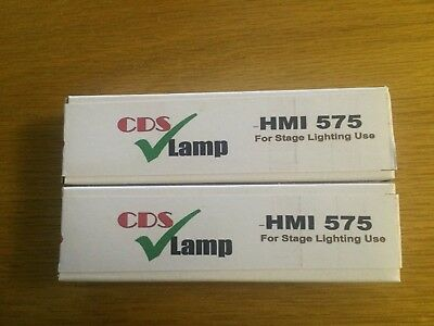 2 x HMI 575 GS lamp MSI 575w UK Stock  hmi575w dj MHK 575 HMQ 575 metal halide