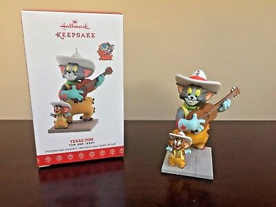 2017 Hallmark Ornament Texas Tom    Tom and Jerry