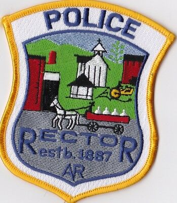 Rector Police Patch Arkansas AR