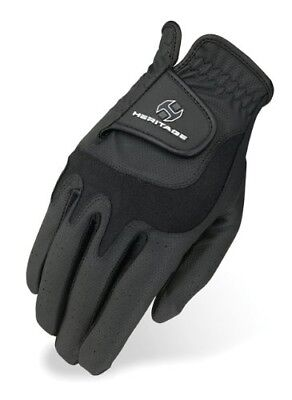 (9, Black) - Heritage Elite Show Glove. Heritage Products. Free Delivery