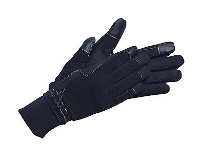 (Medium, Black) - Riders Trend Unisex Breathable Touch Screen Horse Winter