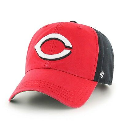 (Cincinnati Reds, One Size) - MLB Flagstaff Clean Up Hat. '47. Delivery is Free