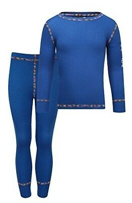 (120 cm, Blue) - Kozi Kidz Boy's Vasa Base Layer Set. Shipping is Free
