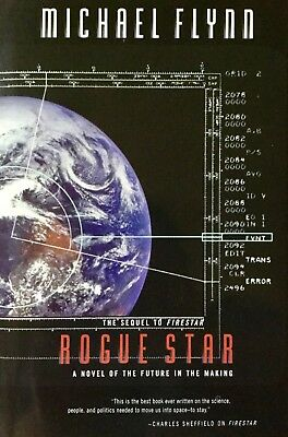 Rogue Star A Novel Of The Future by Michael Flynn (1998, 1st Edition, Hardcover)