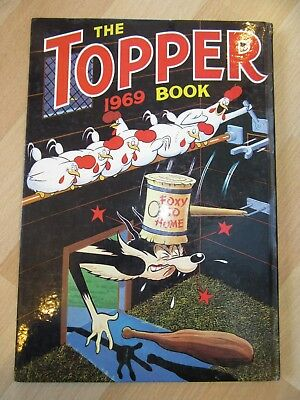 The Topper Book Annual 1969 - In rare to Find Condition