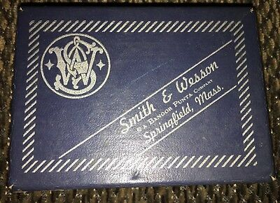 Vintage Smith & Wesson Handcuff Box Only, Model 90.