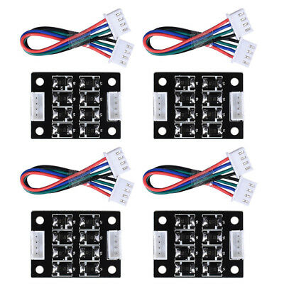 4PCS TL-Smoother V1.0 Addon Module for 3D Printer Stepper Motor Drivers Acc T2S3