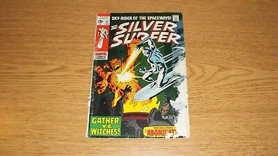 Silver Surfer Marvel Comics 1968 Series #12 Reader