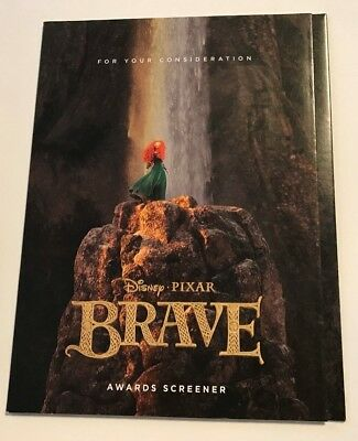DISNEY PIXAR Brave FYC For Your Consideration DVD Screener 2012 Free Shipping